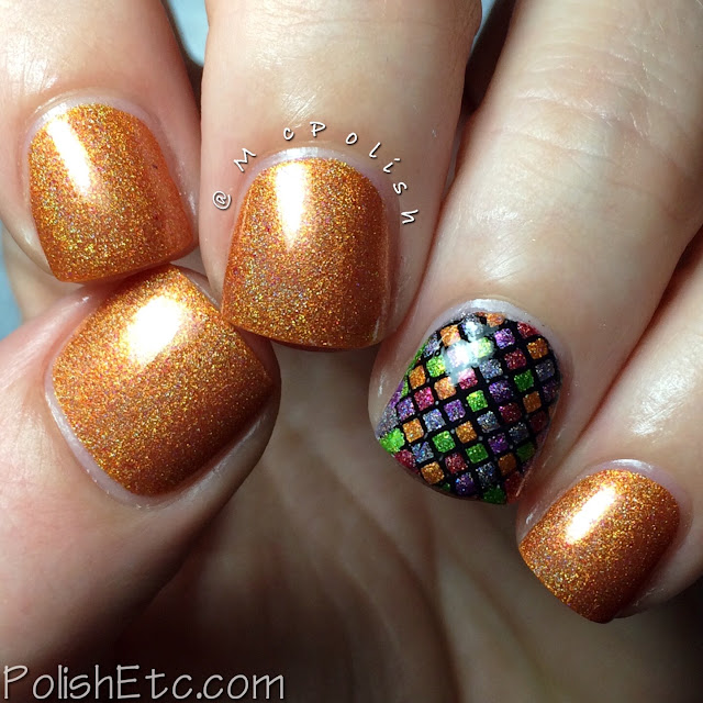Pahlish - Happy Holo-Ween II - McPolish - Marshmallow Pumpkin