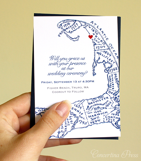 Stationery And Invitations: Cape Cod