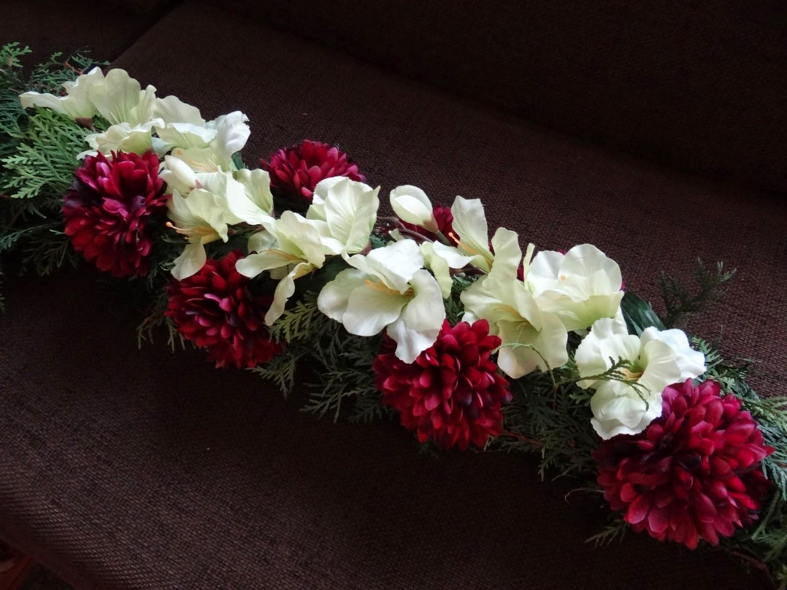 wiązanka na cmentarz, stroik, Wszystkich Świętych