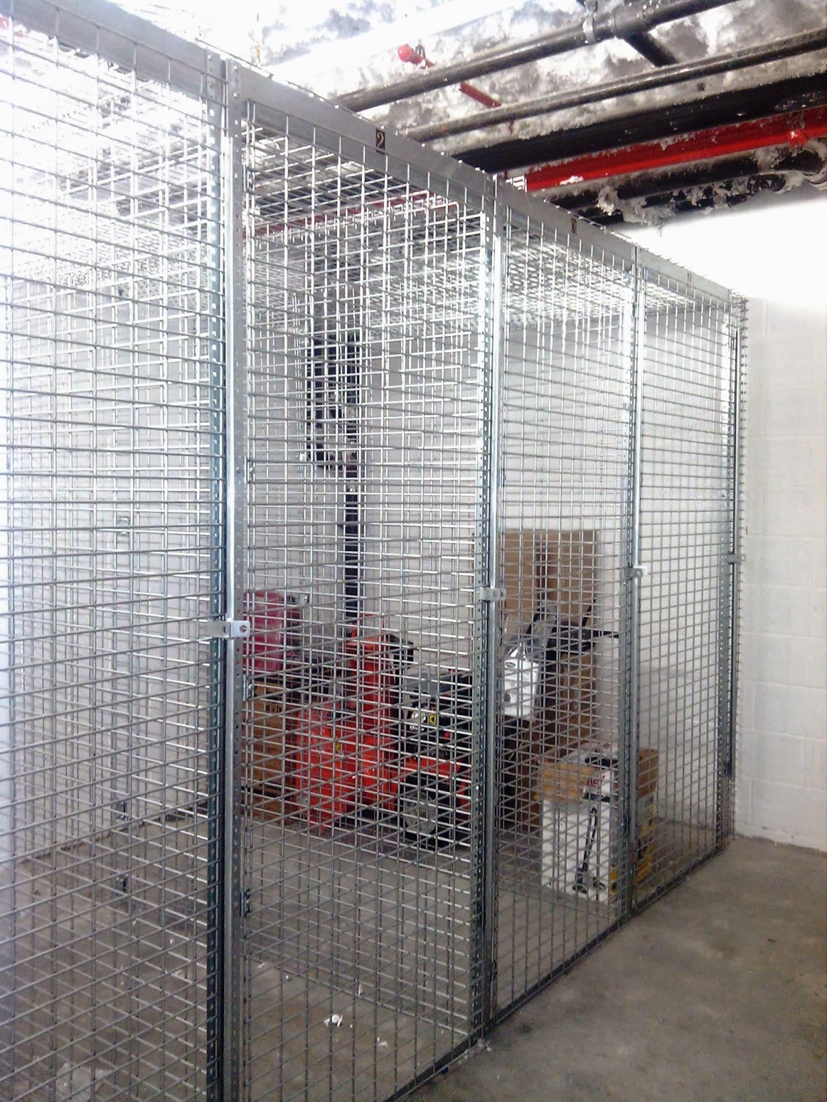 Tenant Storage Lockers Installed On 51st Ave Long Island City. Free On Site  Layouts.
