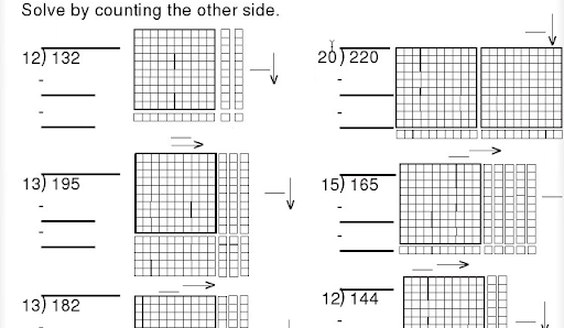 Division Worksheets Division Worksheets Using Base Ten Blocks – Division with Base Ten Blocks Worksheets