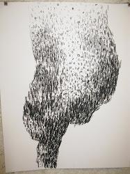 Fusain / papier 42 x 31 2011