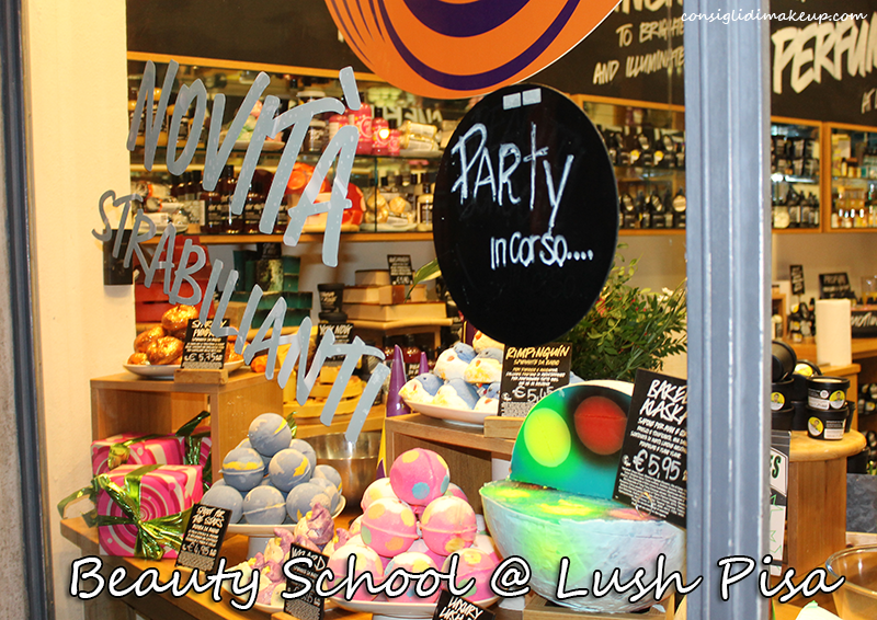 Lush Beauty School @ Lush Pisa - Informazioni & Evento