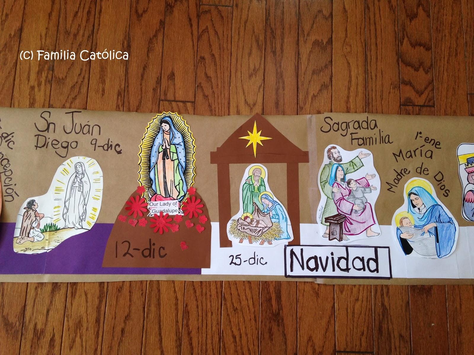 Familia Católica: ¡Haz un Calendario Litúrgico en casa con páginas ...