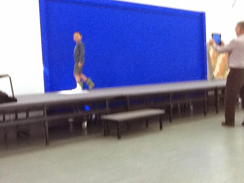 blue screen filming