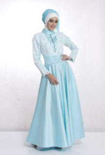 Model Gaun Muslim Untuk Ke Pesta