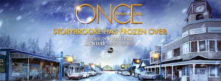 Once Upon a Time - Season 4 - Storybrooke Has Frozen Over - Promotional Banner