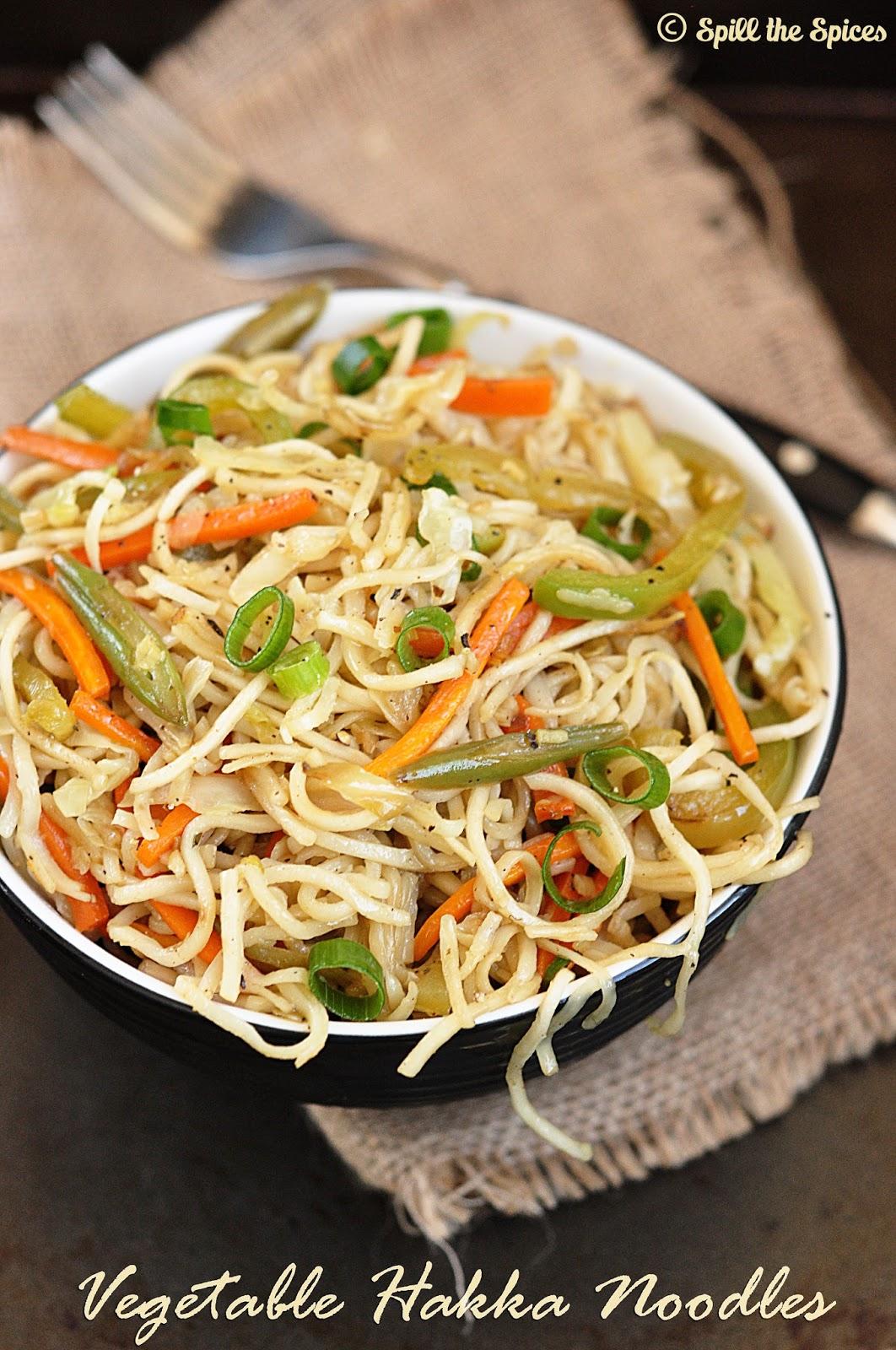 Vegetable hakka noodles spill the spices vegetable hakka noodles forumfinder Images