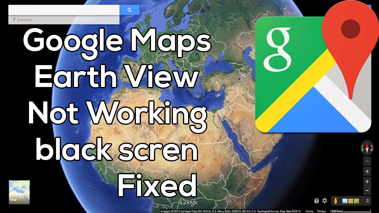 How to fix google maps earth view 3d not working black screen google moved to the new maps more than a year now but some users experienced some issues with the new google maps tha most common one is when trying to gumiabroncs Choice Image