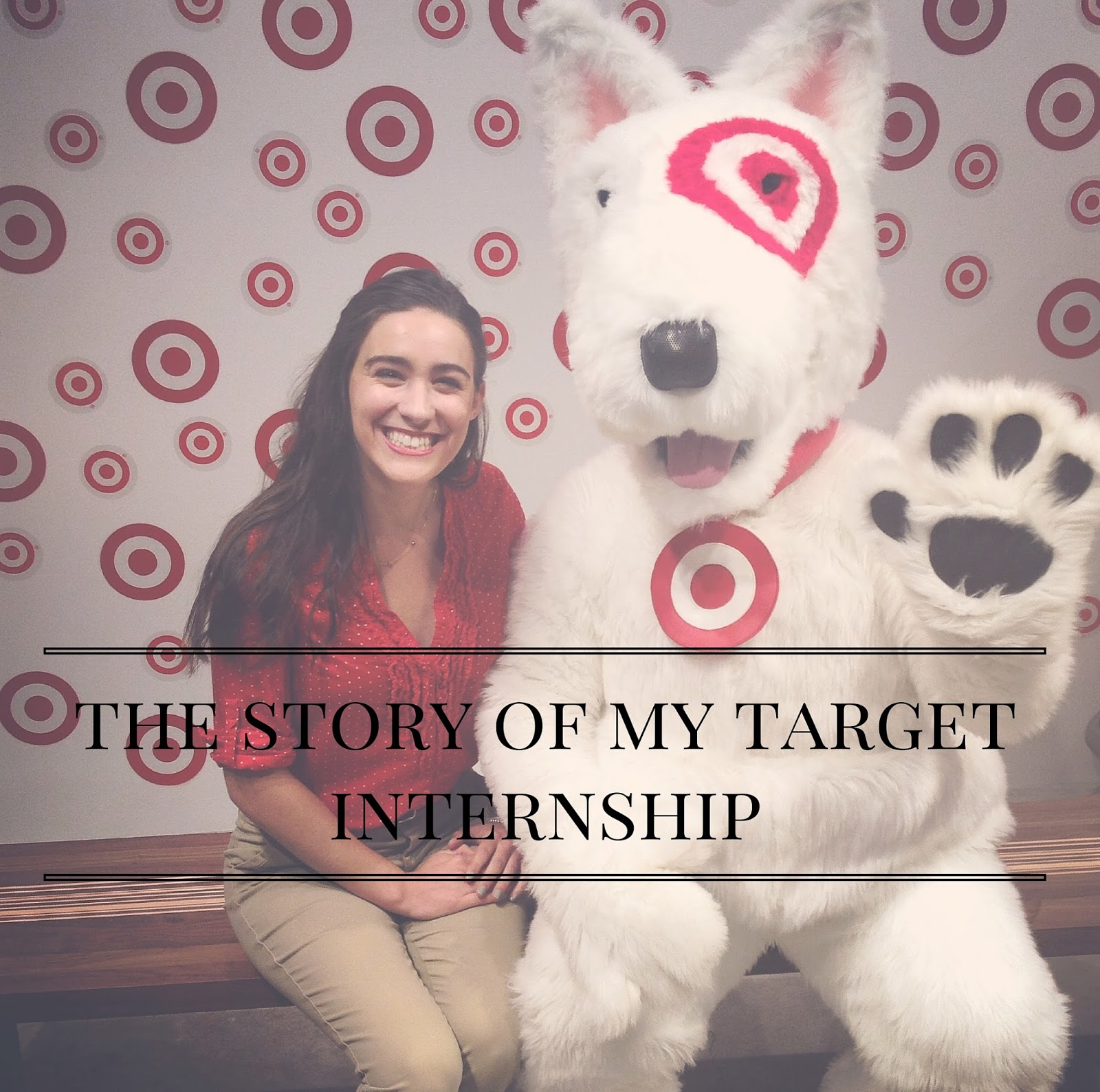 The Story Of My Target Internship | http://www.alyssajfreitas.com/2015/09/the-story-of-my-target-internship.html