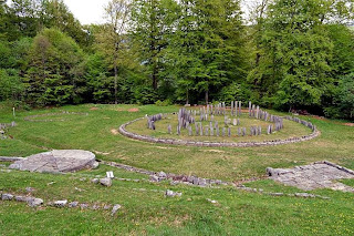 Citadel Sarmizegetusa Regia- Solar disk and Large circular sanctuary