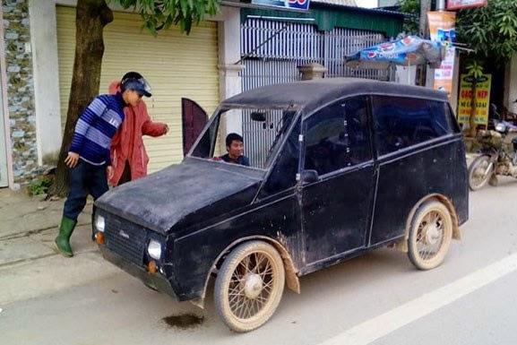 Chiếc xe siêu dị ở Nghệ An