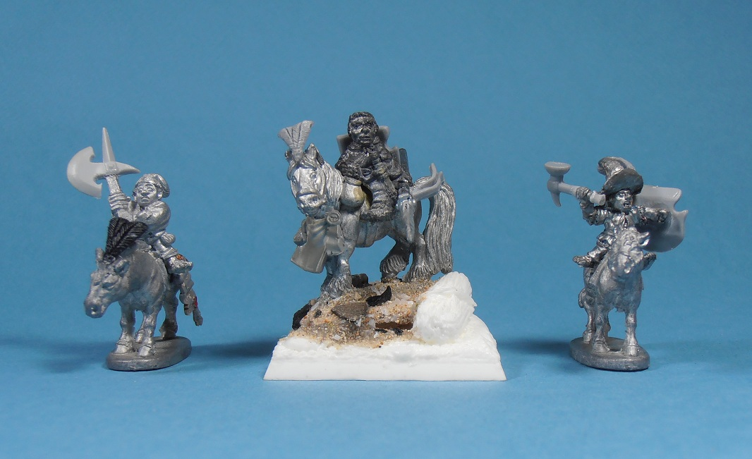 hunters - Halfling Witch Hunters Mounted+halfling+group
