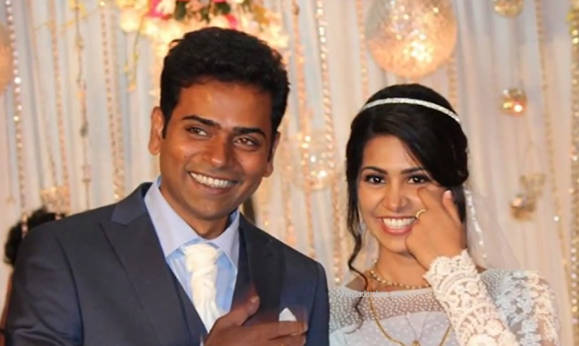 Alphonse Putharen married Aleena Mary Antony :photos