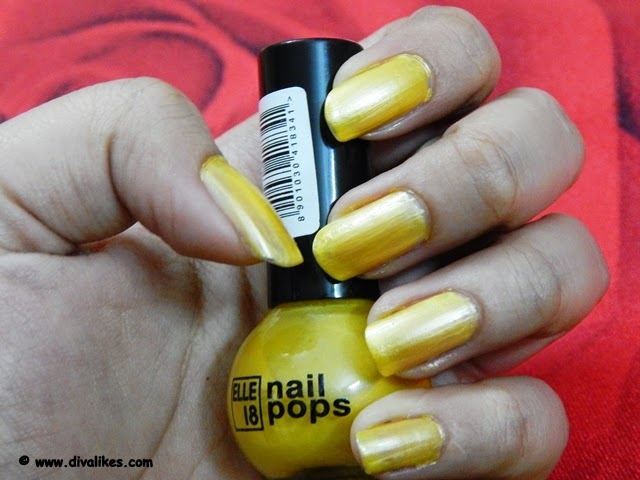Elle 18 Nail Pops Shade 62 Review | Diva Likes