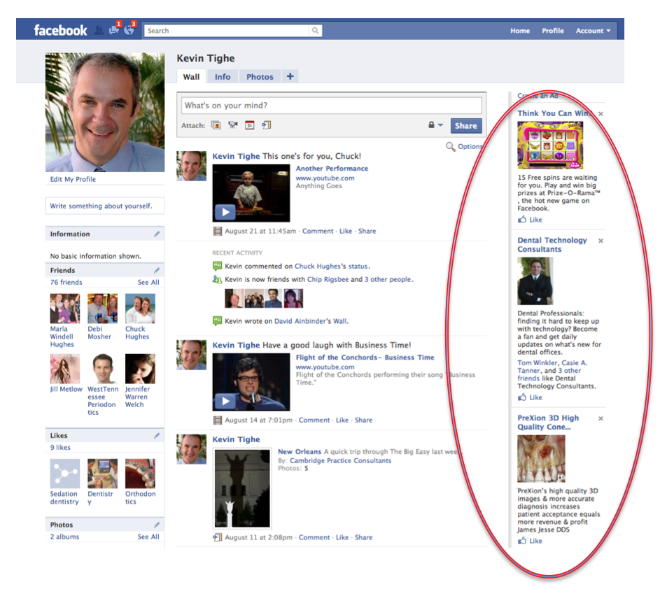 thoughts on advertising ad spots on facebook page ad spots on facebook page