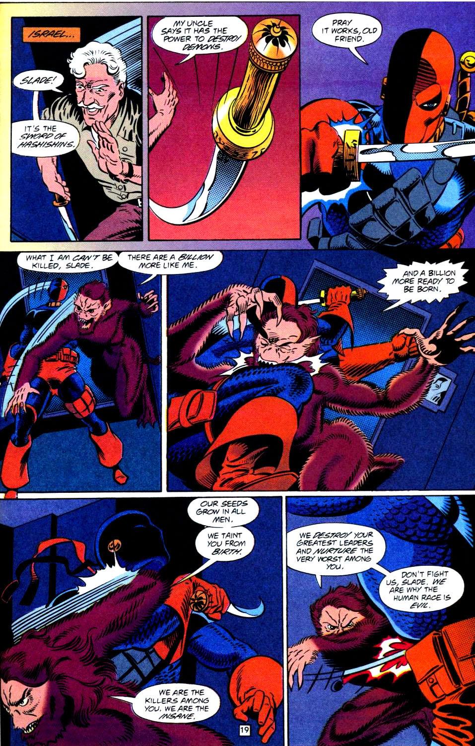 Deathstroke (1991) Issue #38 #43 - English 20