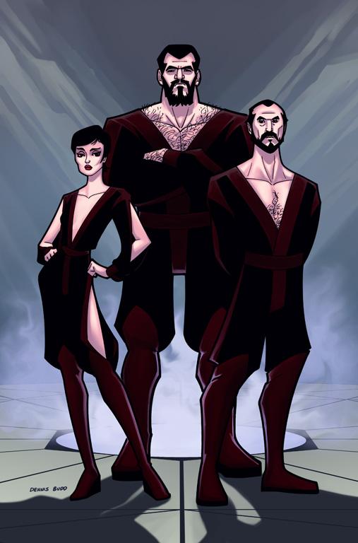 El general Zod. Superman