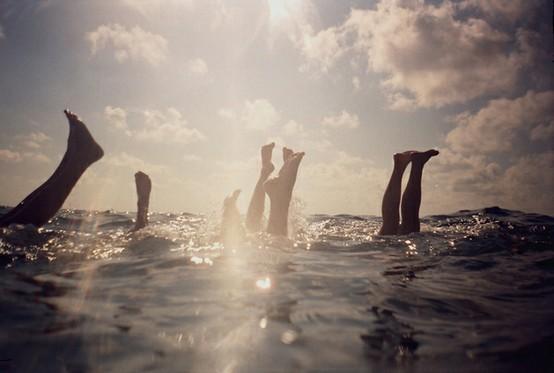 ocean handstands