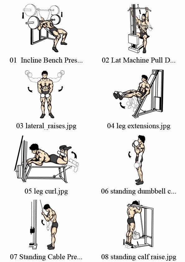 Ejercicios de pronombres personales nombre de ejercicios for Ejercicios de gym