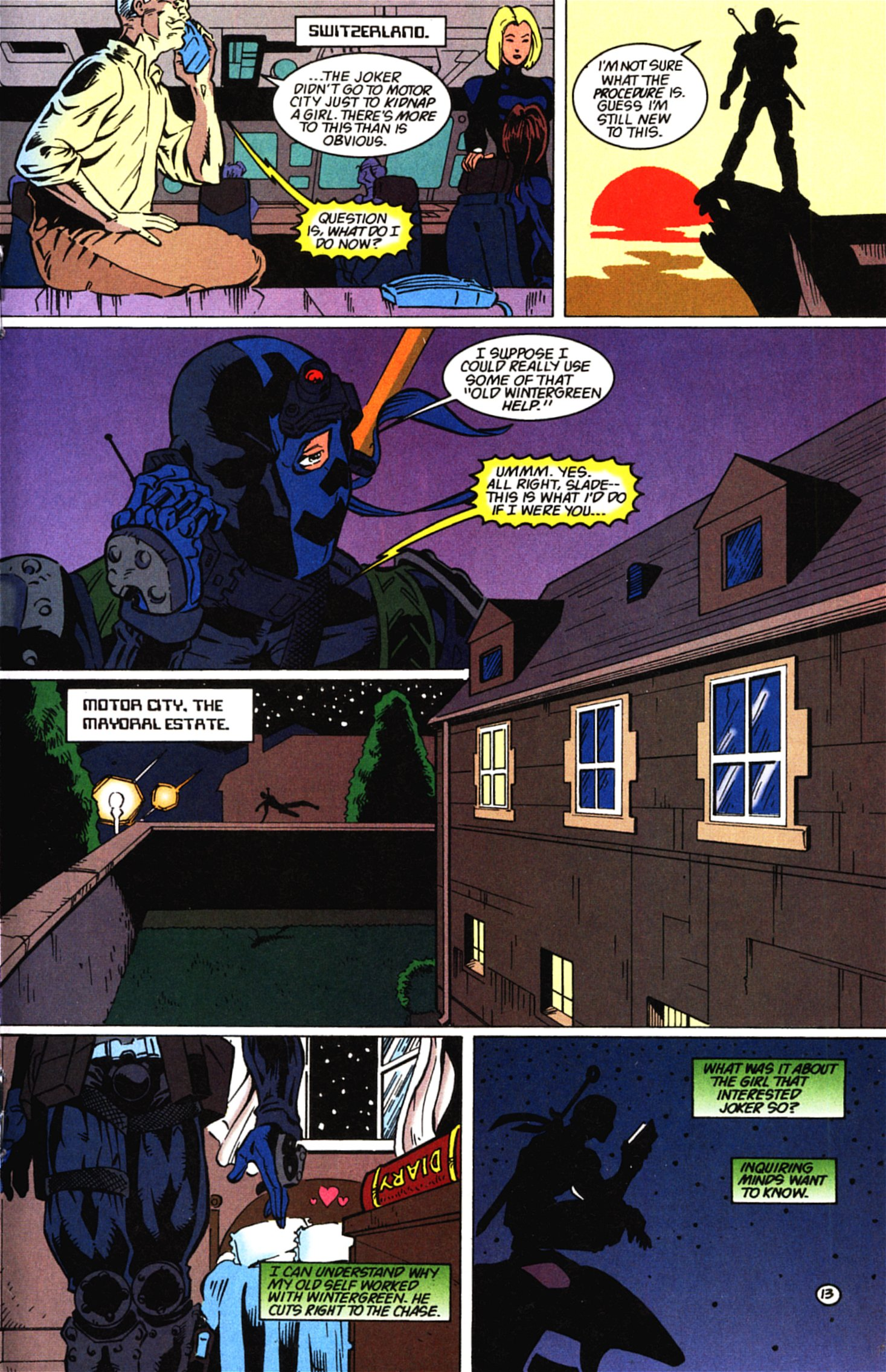 Deathstroke (1991) Issue #58 #63 - English 14