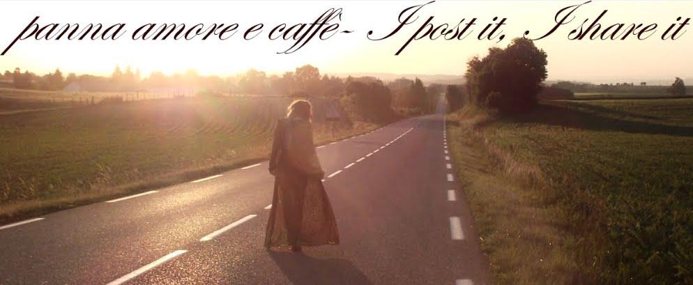 panna amore e caffè - I post it, I share it!