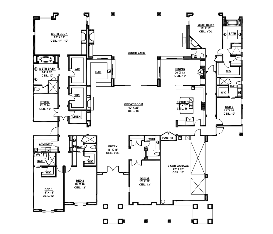My life changed forever for Malibu house plans