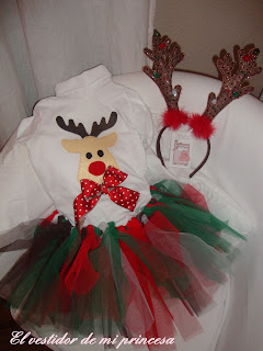El vestidor de mi princesa diciembre 2012 - Disfraz de reno nina ...