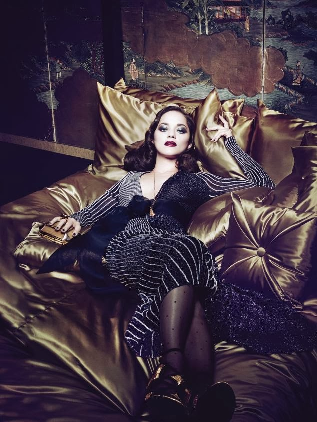 Marion Cotillard HQ Pictures Genlux  Magazine Photoshoot March 2014 By Craig McDean