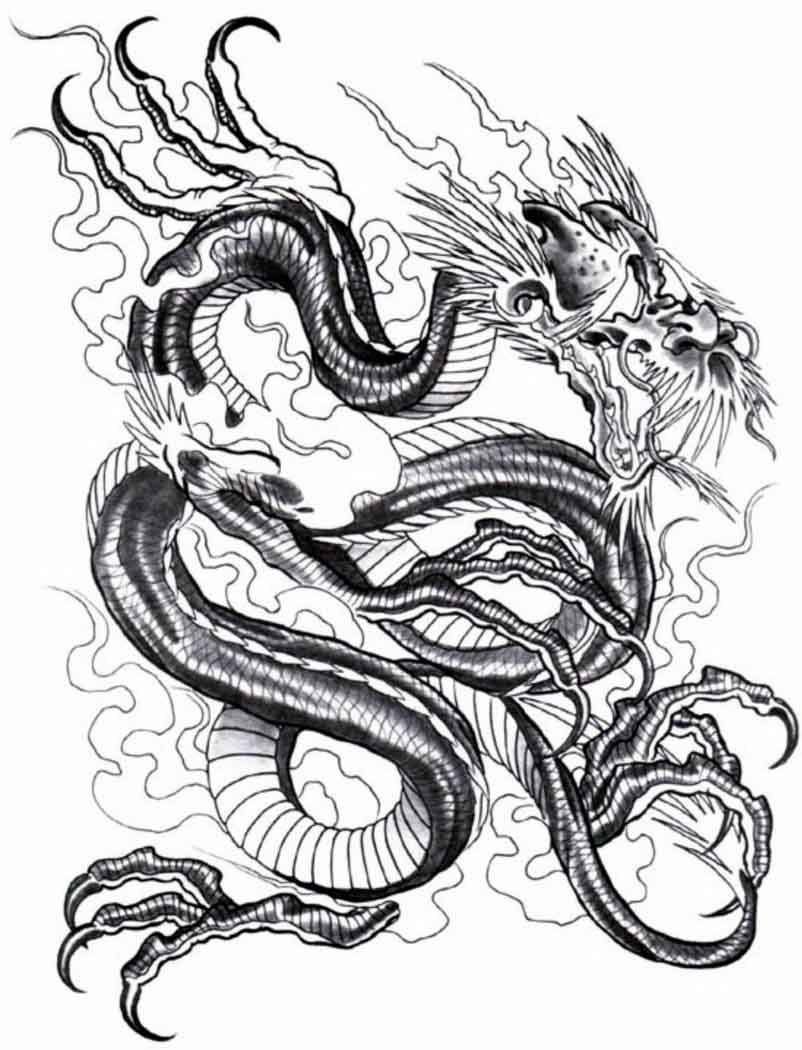 dragon temporary tattoos nycardsandswag. Black Bedroom Furniture Sets. Home Design Ideas