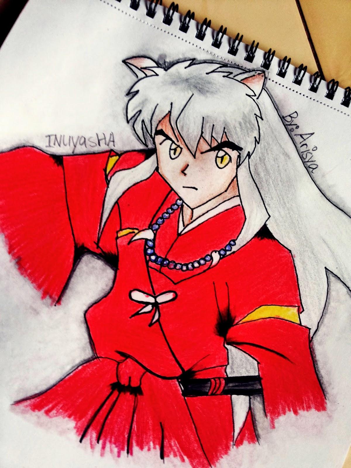 Kali Ini mau kasi Tutor and Review Pencil Color Faber Castel Coba mewarnai gambar Inuyasha yang sebenernya Req seseorang