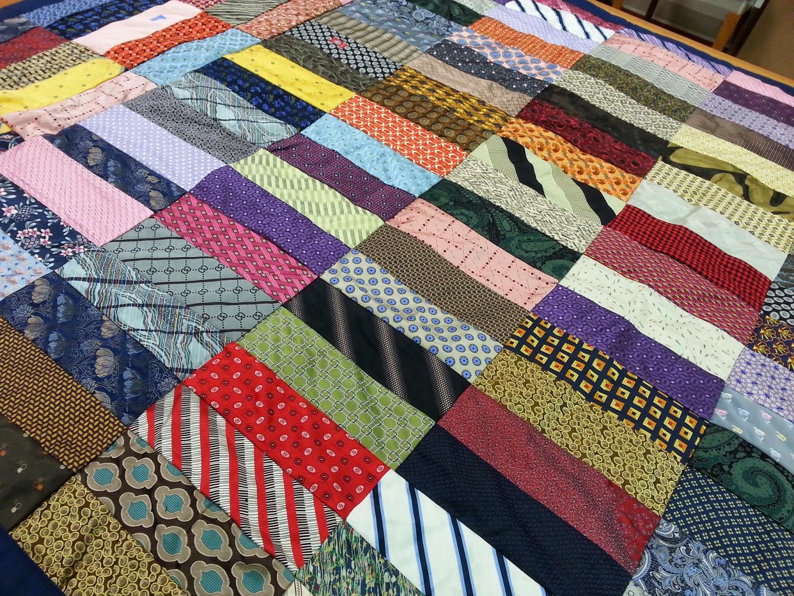 Quilts By Kate Necktie Renee S Necktie Quilts