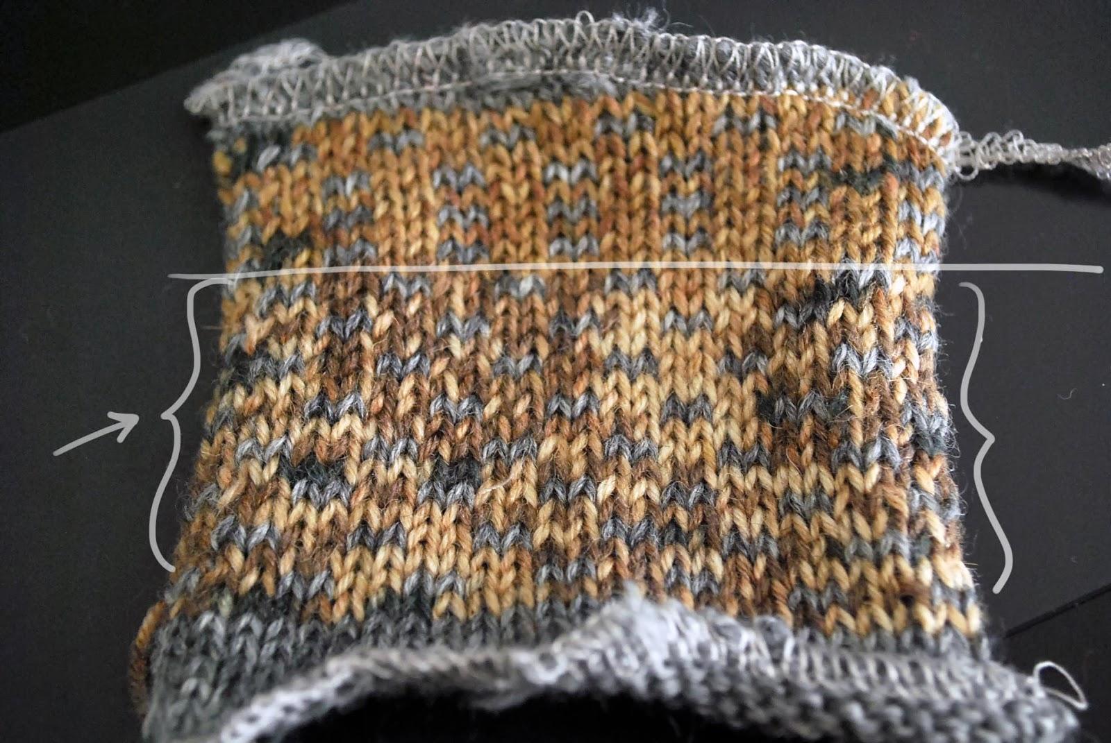 Adri Makes a Thing or Two: Knitting Machine: Fairisle Experiments