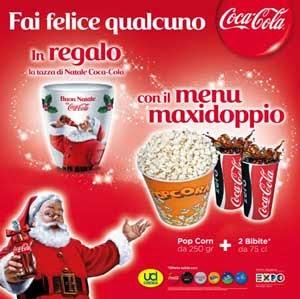 tazza natalizia Coca Cola