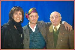 Chon Garcia, Juan Carlos e Isidro Garcia