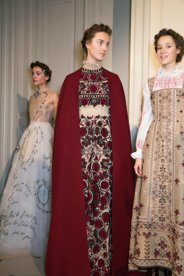 Valentino Couture Spring 2015 Paris Fashion Week