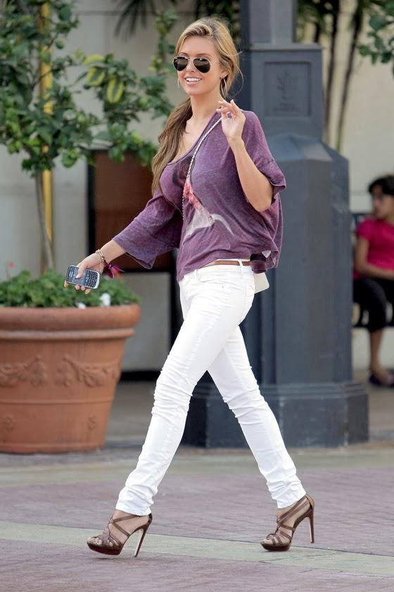 White pants Designer Jeans Pantalones Blancos