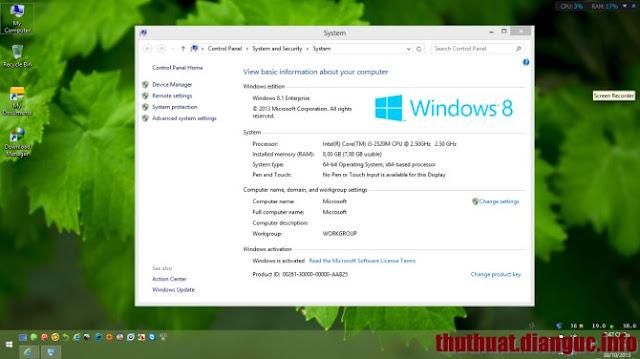 Download Ghost Windows 8.1 Enterprise 64bit