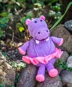 The Hippo Gloria-$3.50 USD