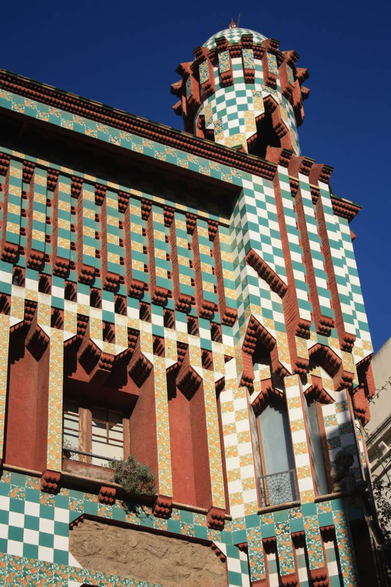 Barcelona modernism antoni gaudi beautiful places of barcelona and catalonia - Casa vives gaudi ...