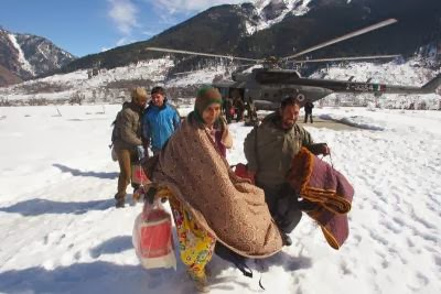 INDIA-WEATHER-WINTER-RESCUE