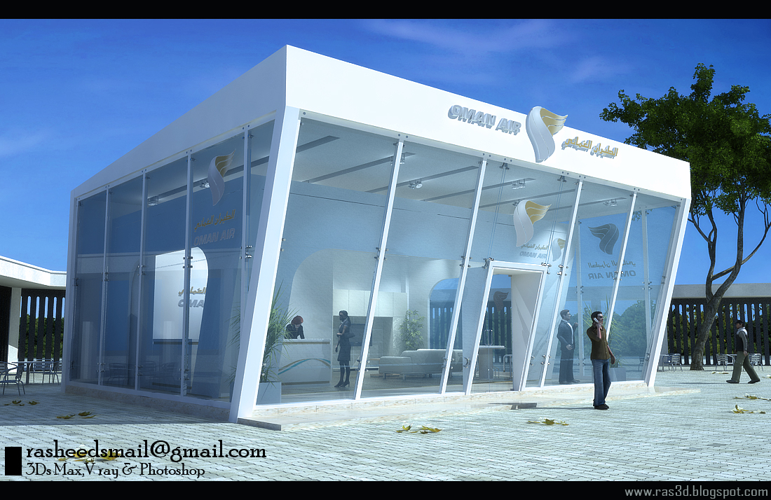 Exhibition Stand Outdoor : D designer visualizer events exhibitions interiors