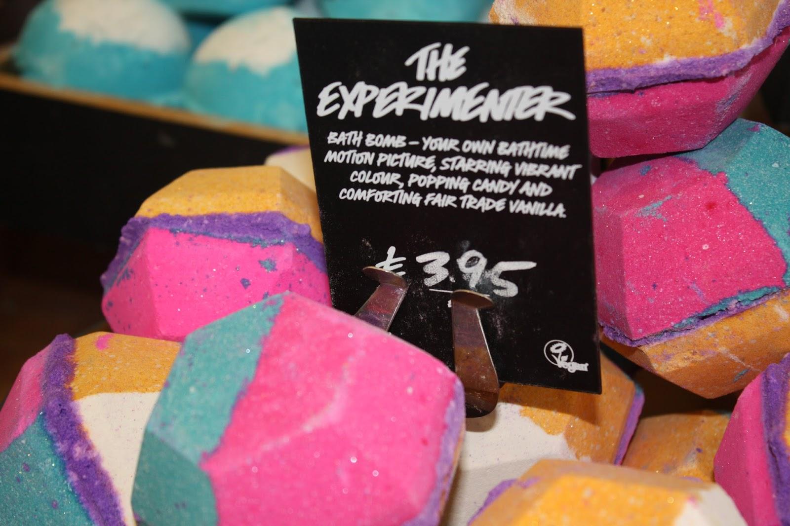 Lush Summer Event Oxford Street Launch The Experimenter Bath Bomb