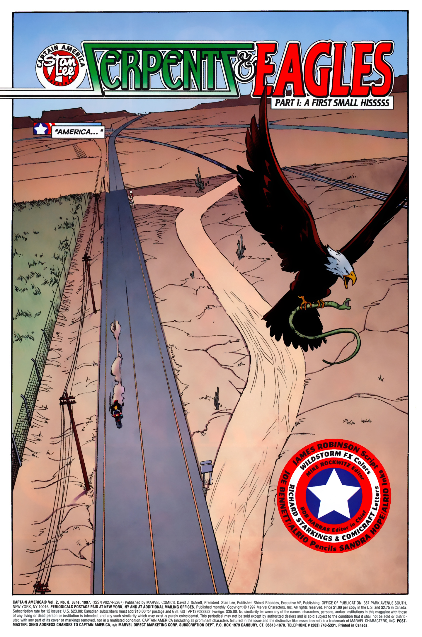 Captain America (1996) Issue #8 #8 - English 2