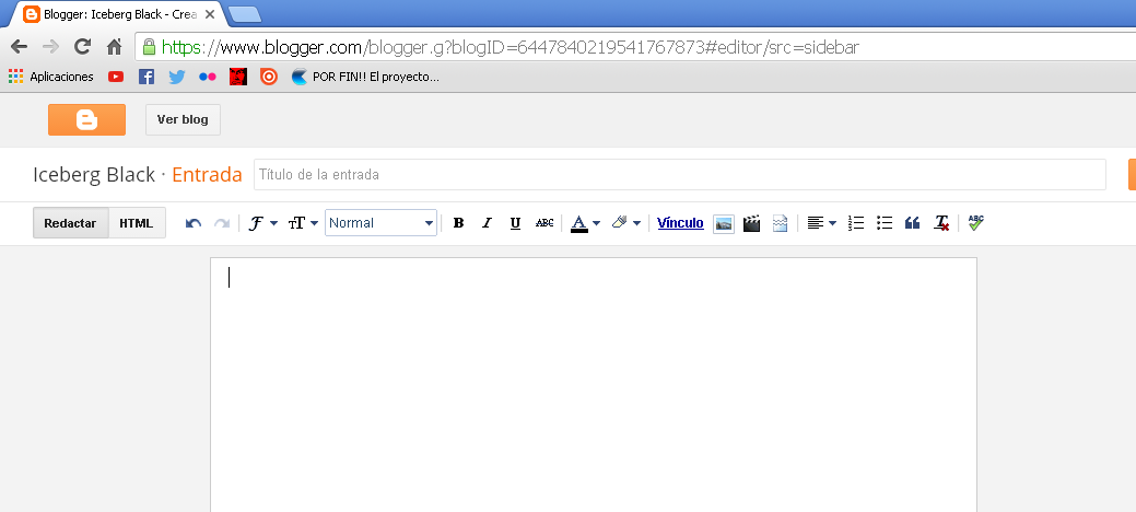Iceberg Black: Insertar PDF en Blogger