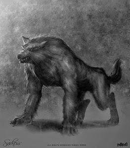 Sadness Werewolf