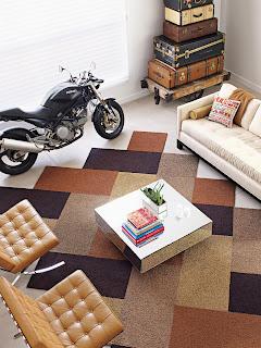 pavimento con moquette immagine