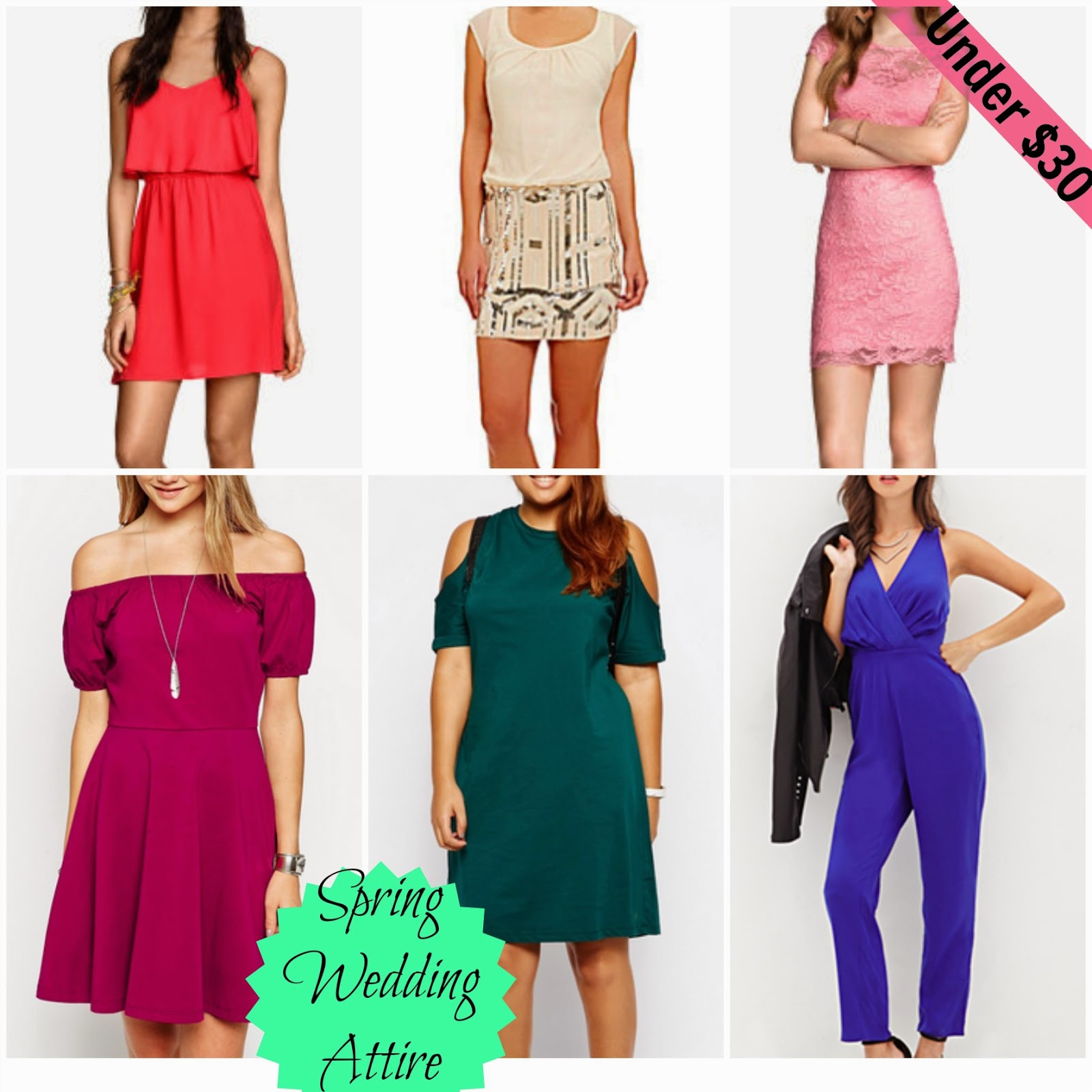 Affordable Spring Summer 2015 Wedding Guest Attire
