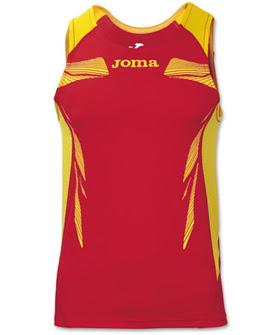 camisetas atletismo tirantes Joma competición