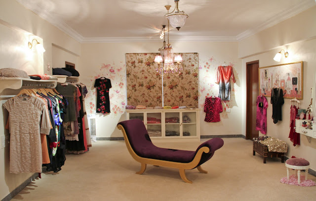 Bangalore, showroom, designer, LCF, floral print